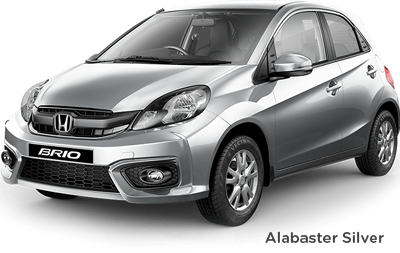 Test Drive Brio Alabaster Silver car